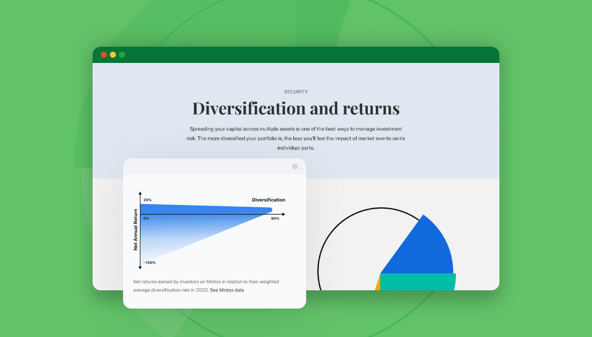 Diversification page